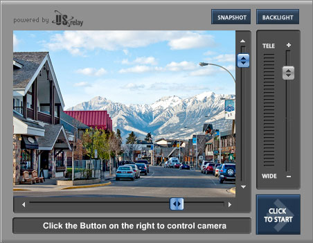 Jasper, Alberta - Live Web Cam