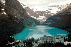 Want luxury? Try getting married in a castle on Lake Louise.