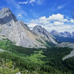 Burstall Pass - right on the boundary between Banff National Park and Kananaskis Country