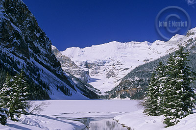 Lake Louise, Banff National Park Winter Photography