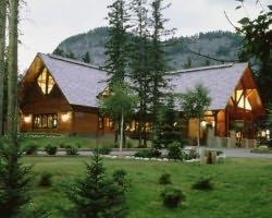 The Buffalo Mountain Lodge is the Mountain Man's favorite.