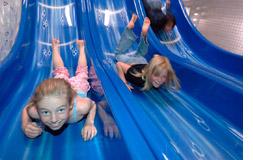 The Douglas Fir Resort provides non-stop fun for families.