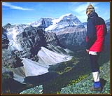 The author at the summit of South Pharaoh Peak