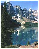 Moraine Lake Valley Of The Ten Peaks Canadian Rockies
