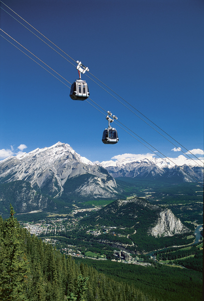 With activities like the gondola ride straight out of Banff, your guests will have the time of their lives.