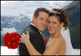 Marriage, Canadian Rockies style