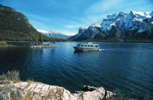 Disabled visitors to Banff will fine the Lake Minnewanka Boat Tour an excellent way to see the park.