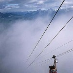 The Jasper Tramway - Stairway to heaven (licensed restaurant at the top)