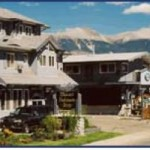 The scenic view of Mount Robson Inn.