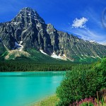 Who could resist the temptations of the Canadian Rockies and its locals!