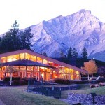 The Banff centre - peaceful on the outside, more peaceful inside.