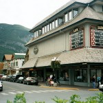 The Lux Cinema in Banff.