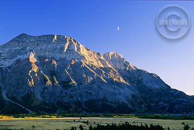 Vimy Peak in Waterton Lakes National Park