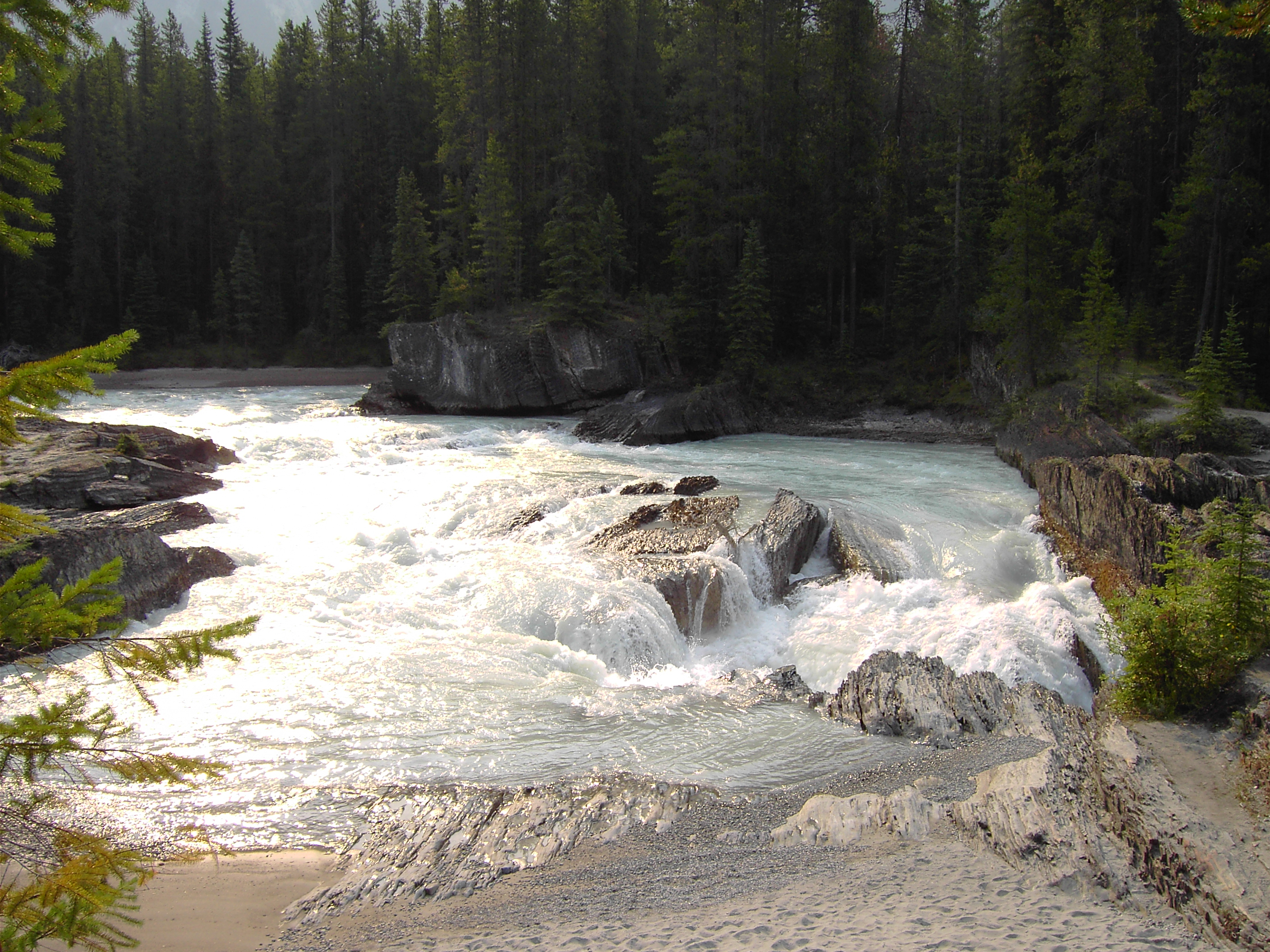alberta whitewater rafting canadian rockies vacations guide banff national park