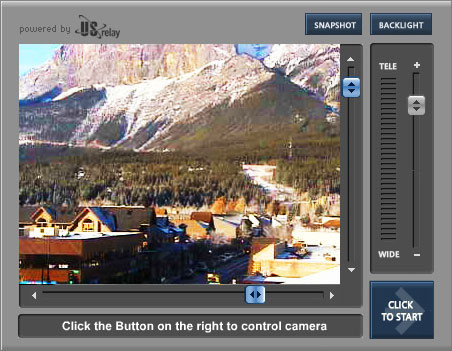 City View Canmore Webcam